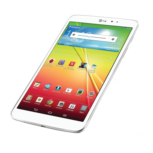 Test: LG G Pad 8.3 Android tablet