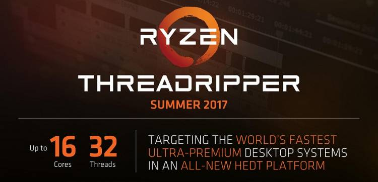 AMD predstavio 16-jezgreni Threadripper procesor