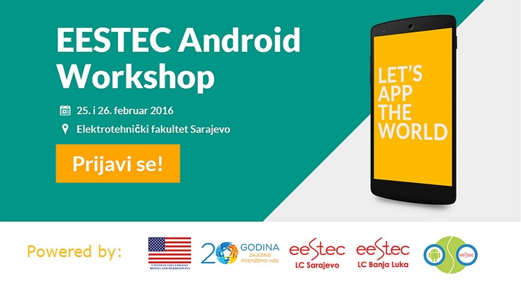 Od ideje do mobilne aplikacije – prijavite se za Android Workshop