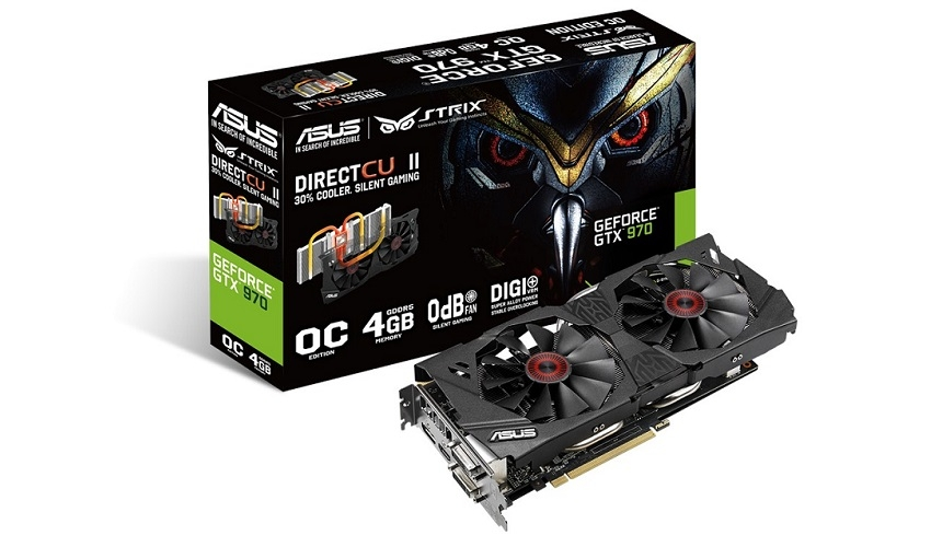 Test: Asus Strix GeForce GTX 970 OC Edition