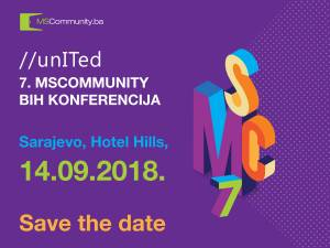 Save the date – 7. MSCommunity BiH konferencija