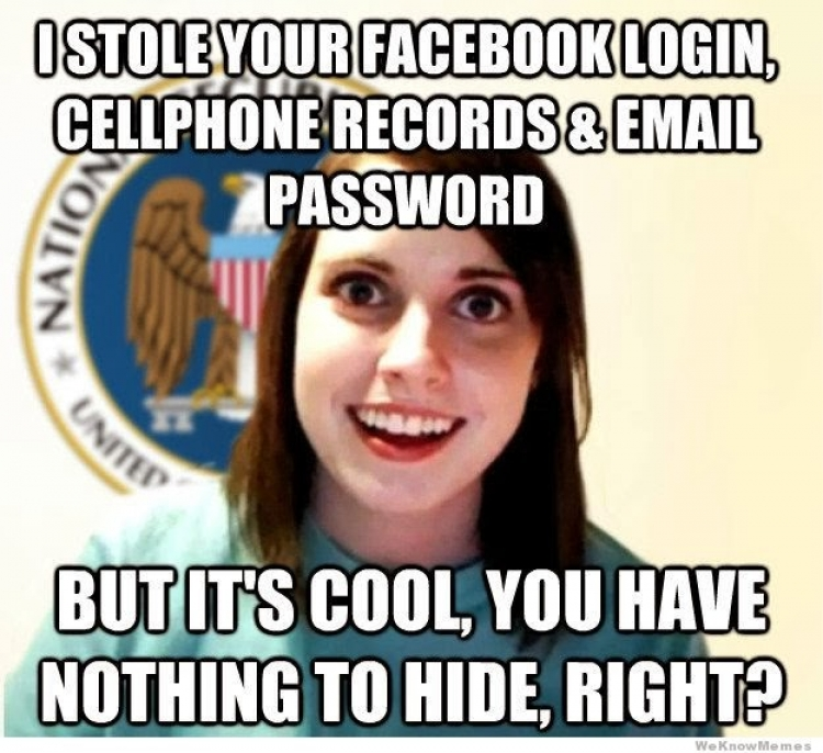 Overly attached NSA