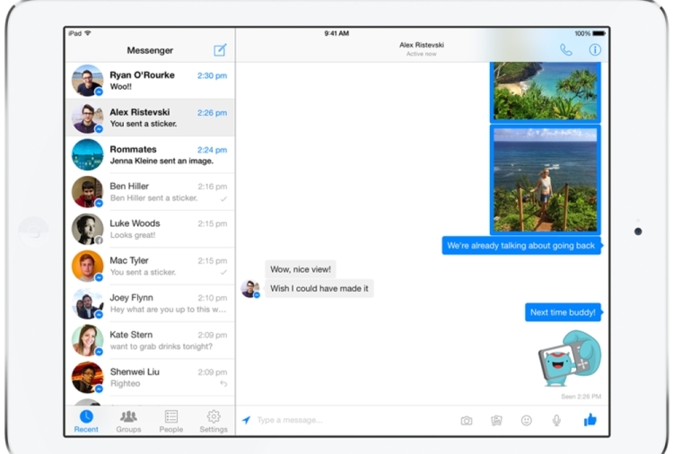 Facebook Messenger dobio nativnu iPad aplikaciju