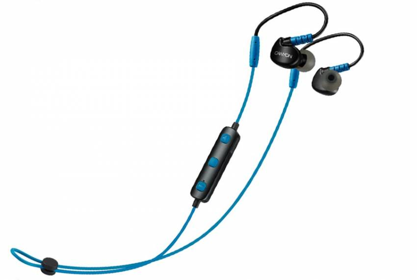 Canyon Wireless Bluetooth Sporty Earphones CNS-SBTHS1B