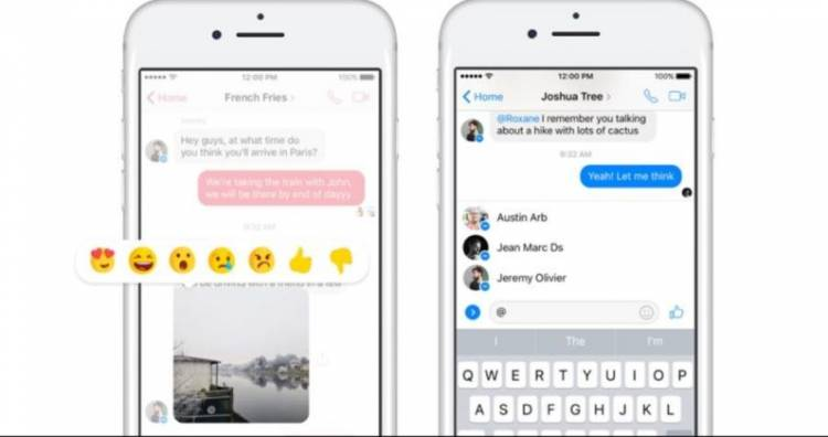 Facebook Messenger dobio podršku za Mentions i Reactions