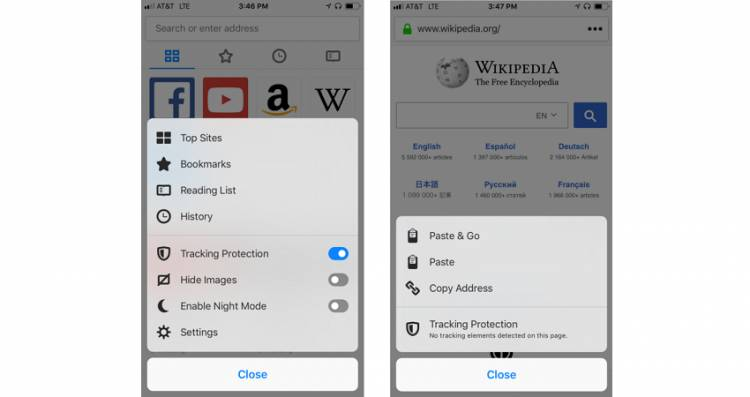 Firefox na iOS-u od sada po defaultu aktivira Tracking Protection