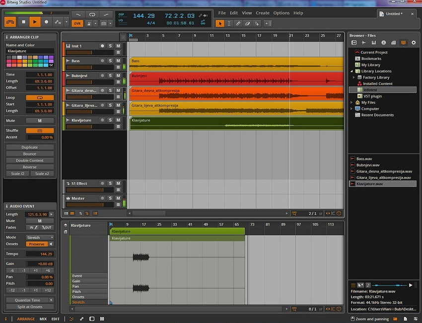 SOFTVER: Bitwig Studio