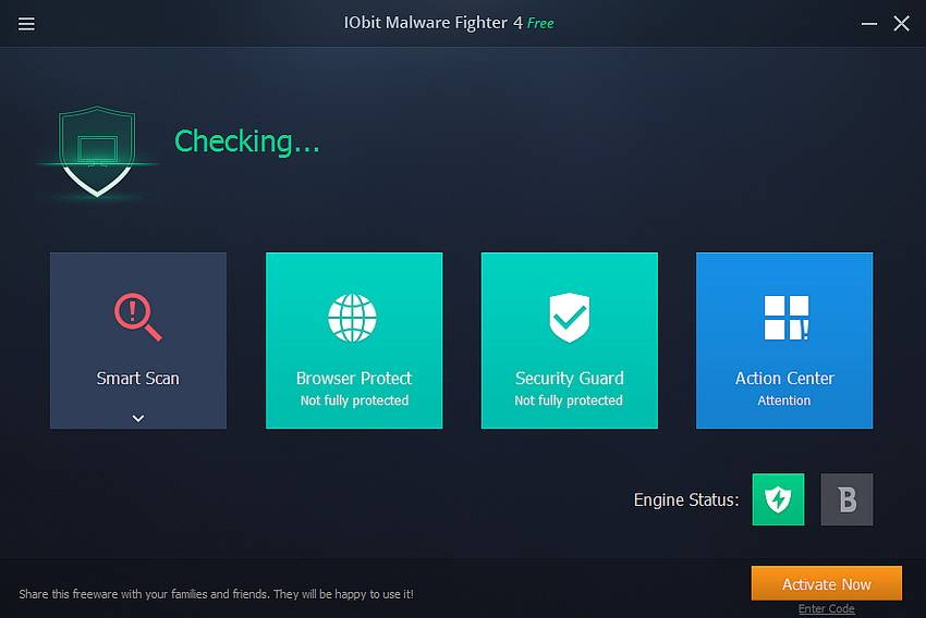 SOFTVER: IObit Malware Fighter 4